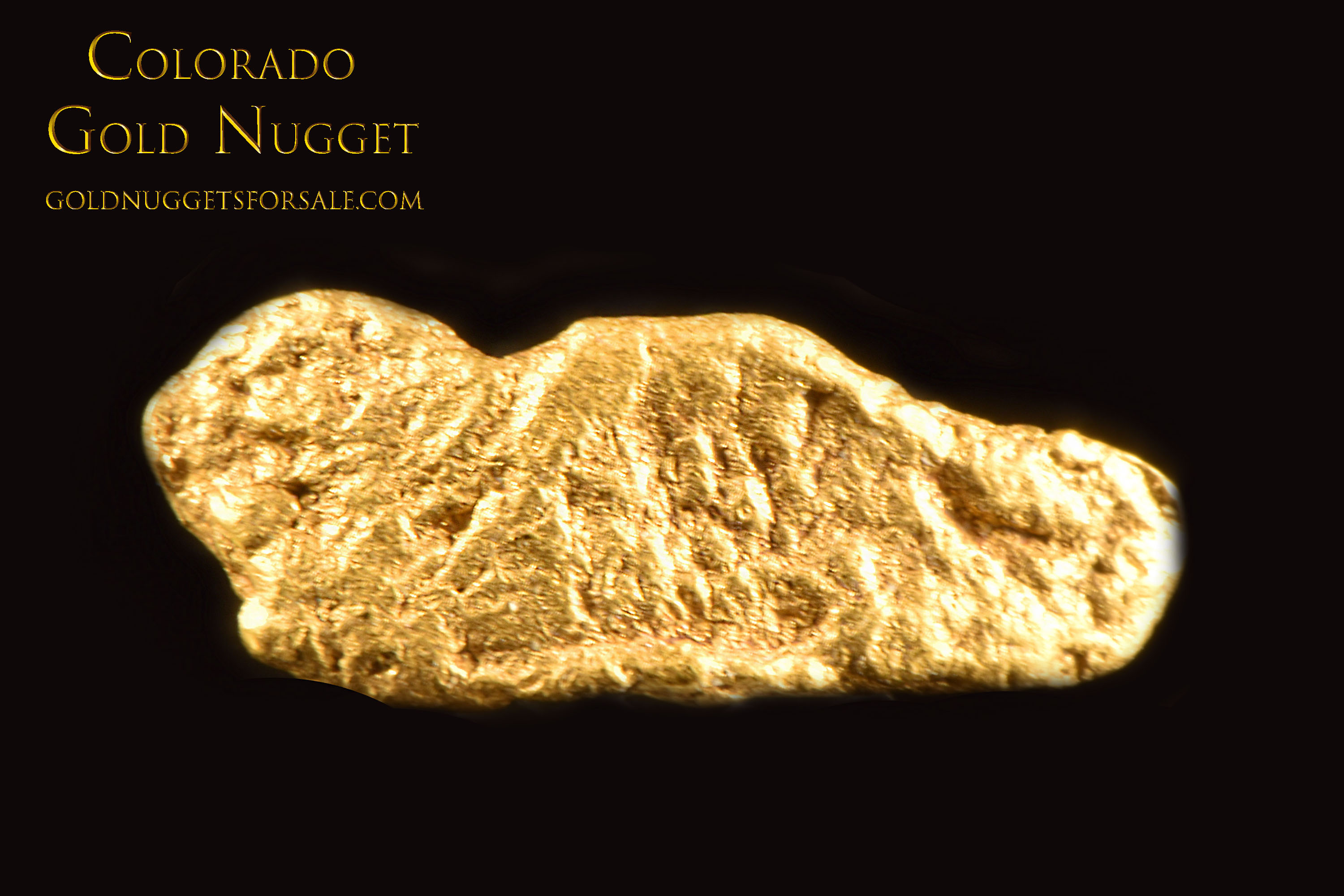 Perfect for Jewelry Making - Colorado Gold Nugget