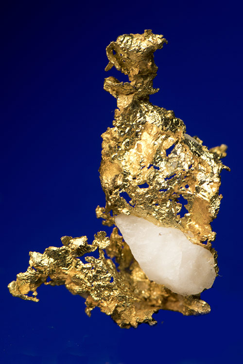 Oriental Mine, Sierra County, CA - Crystalline Gold