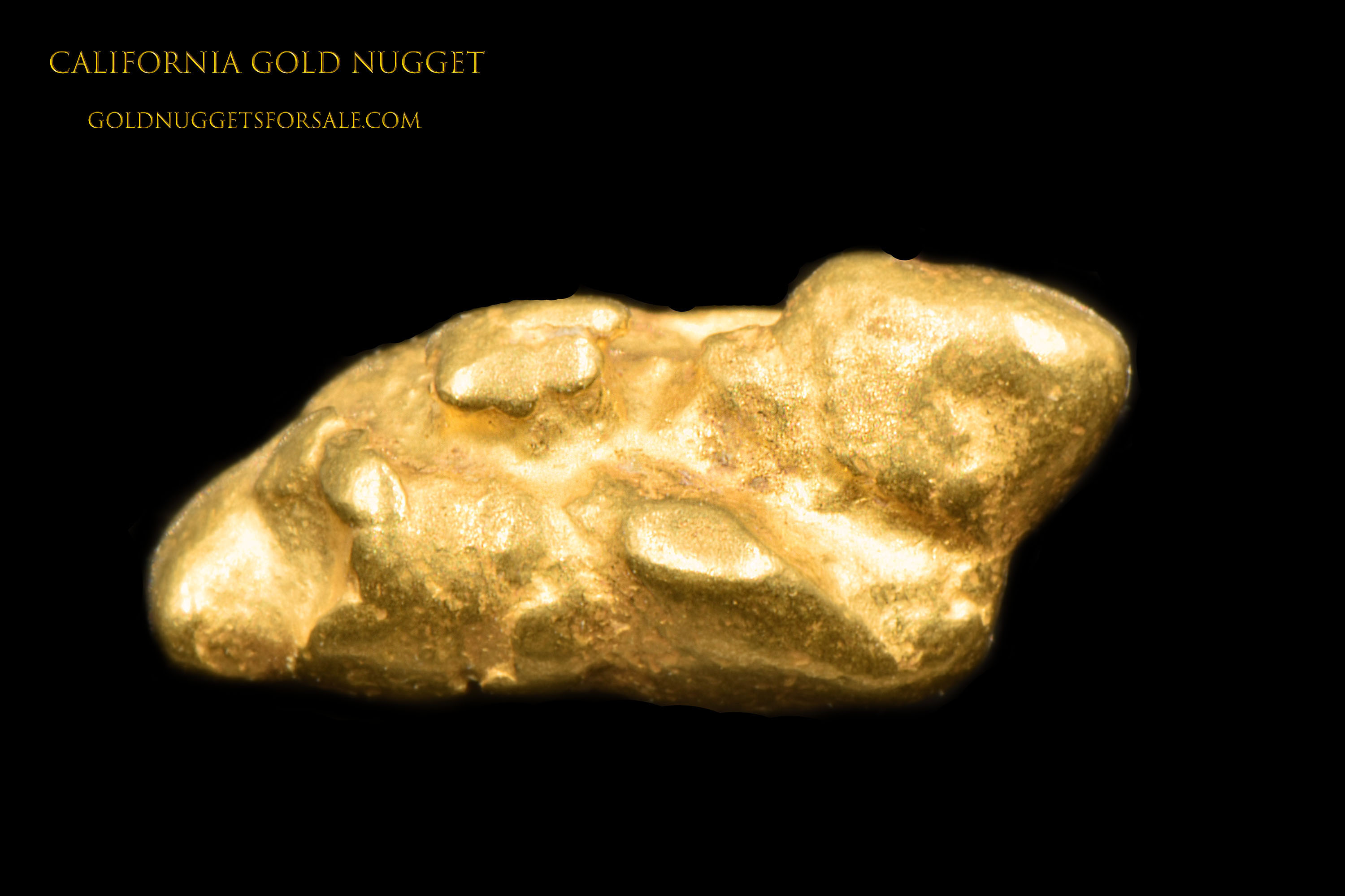 Natural California Gold Nugget - Great Price